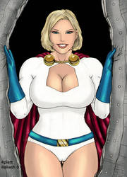 Powergirl by goloka