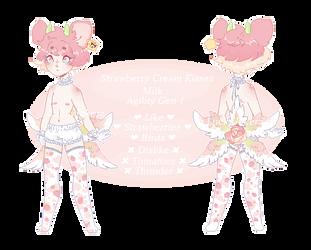 Strawberry Creme Kisses by LuckyJokerz