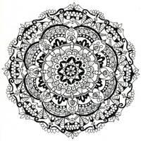 Mandala 1 by flashyraccoon