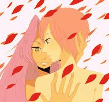 Anthy and Utena by shouji-kun