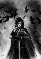 Jon Snow by 4kat