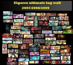 cigarro ultimate tag wall by cigarro-DA