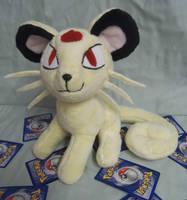 Custom Pokemon Plush Persian *sold* by angelberries