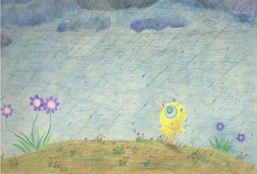 Yolk in the Rain by KavotofFire