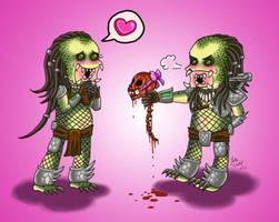 Even Predators Need Love by Mystical-Kaba