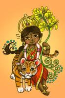 Little Goddess by Mystical-Kaba