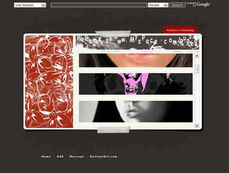myspace design by AleksandrObuhov