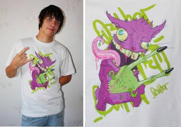 t-shirts: body modification by AleksandrObuhov