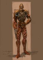 Space Bounty Hunter by Amphitaman
