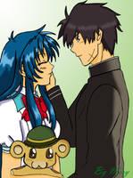 anime couples: SousukexChidori by chiithechosen