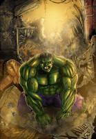 Collaboration: Hulk Xmansion by Dark-thief
