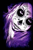 Sugar Skull Girl by prettypetals