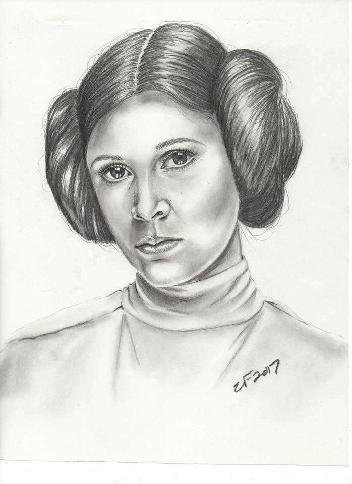 Princess Leia by Azure-Harmony