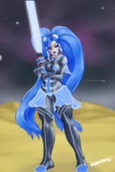 06 Batterygirl Jedi by xxxbattery