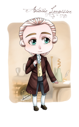 + Chibi Antoine Lavoisier (Redraw) + by SerketXXI
