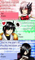 + 7K Season 3 Valentine's Day Card + by SerketXXI
