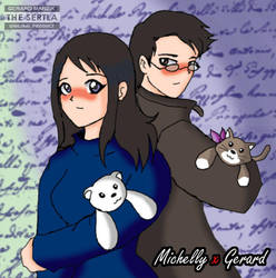 Michelly X Gerard by TheSertla