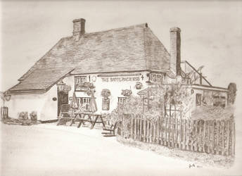 The Woolpack Inn, Brookland, Kent by piggydude