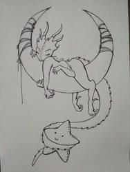 Mignon the Sleeping Dragon v3 by RikaAkira