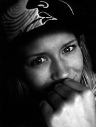 self portrait by elinhaukvik