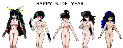 Happy Nude Year 2013 by YuraofthehairFan