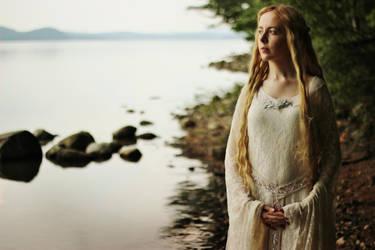 Tolkien: Galadriel II by MirroredSilhouettes