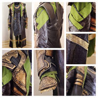 Loki Costume Details (Thor: The Dark World) by MirroredSilhouettes