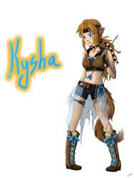PJ Rol - Kysha by SakuraAtsue
