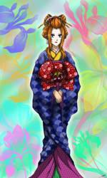 Full Body Geisha Style (Kysha-OC) by SakuraAtsue