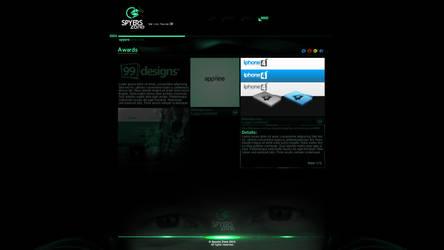 SPYERS ZONE WEB/ AWARDS MENU by spyers