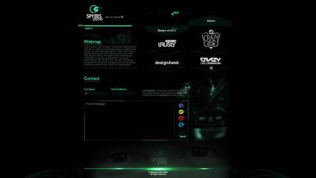 SPYERS ZONE WEB/ CONTACT MENU by spyers