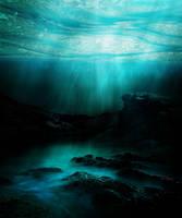 seascape background by Allaniya