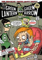 Green Lantern by deanrankine