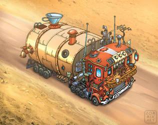 Fuel-truck. by Garri69