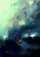 Kanu-flight by Raphelt