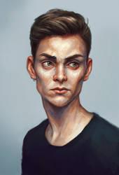 Portrait by w1tchbones