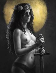Sword Maiden by w1tchbones