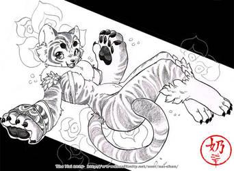 Tiger girl by The-Nai