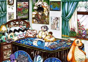 Pokemon room 2 by The-Nai