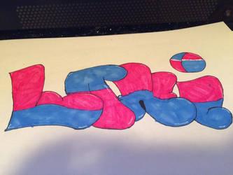 Loki graffiti by lokifan50