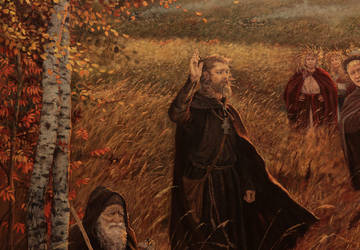 The Preaching (the fragment) by Vladimir-Kireev