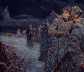 The Ice March - through the times. by Vladimir-Kireev