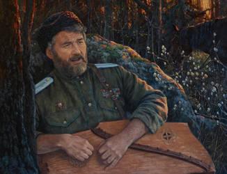 Byl. Portrait of Evgeny Buntov. by Vladimir-Kireev