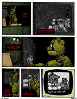 FNAF: Requiem with a Birthday Cake, page 14 by Negaduck9