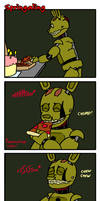 Springaling 1: Pizza by Negaduck9