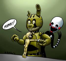 Mommy Fearest by Negaduck9