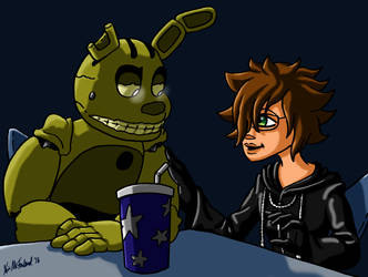 Springtrap says: Get a haircut by Negaduck9