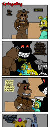 Springaling 389: Four Little Nightmares by Negaduck9
