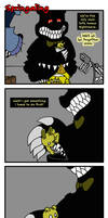 Springaling 390: Two Little Nightmares by Negaduck9