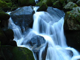 Flowing Water Fall by ImperfectPoet